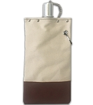 Brown & Natural Tote And Able Canteen