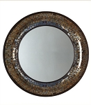 Gold Mosaic Wall Mirror