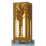 Frank Lloyd Wright Sumac Table Laser Lamp
