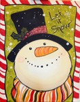 Let it Snow - Tonight's MarqE Painting Class - 12/09/17 at 7 pm <br> ( 24 hr. rescheduling accepted, no refunds ) <br>  Please no child ( Including Infants ) under 15 allowed